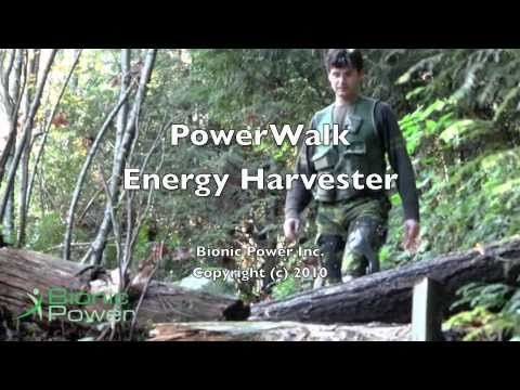 PowerWalk M-Series Prototype - Biomechanical Energy Harvester