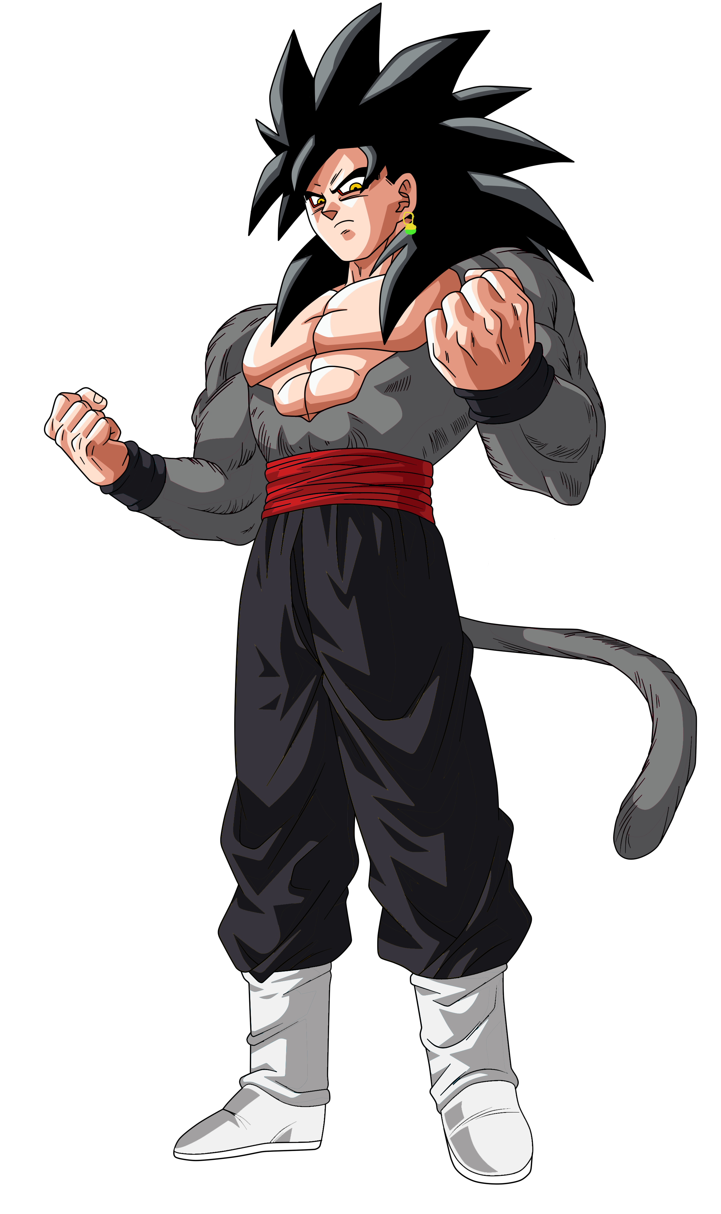 Super Saiyan 4 Goku Black V2