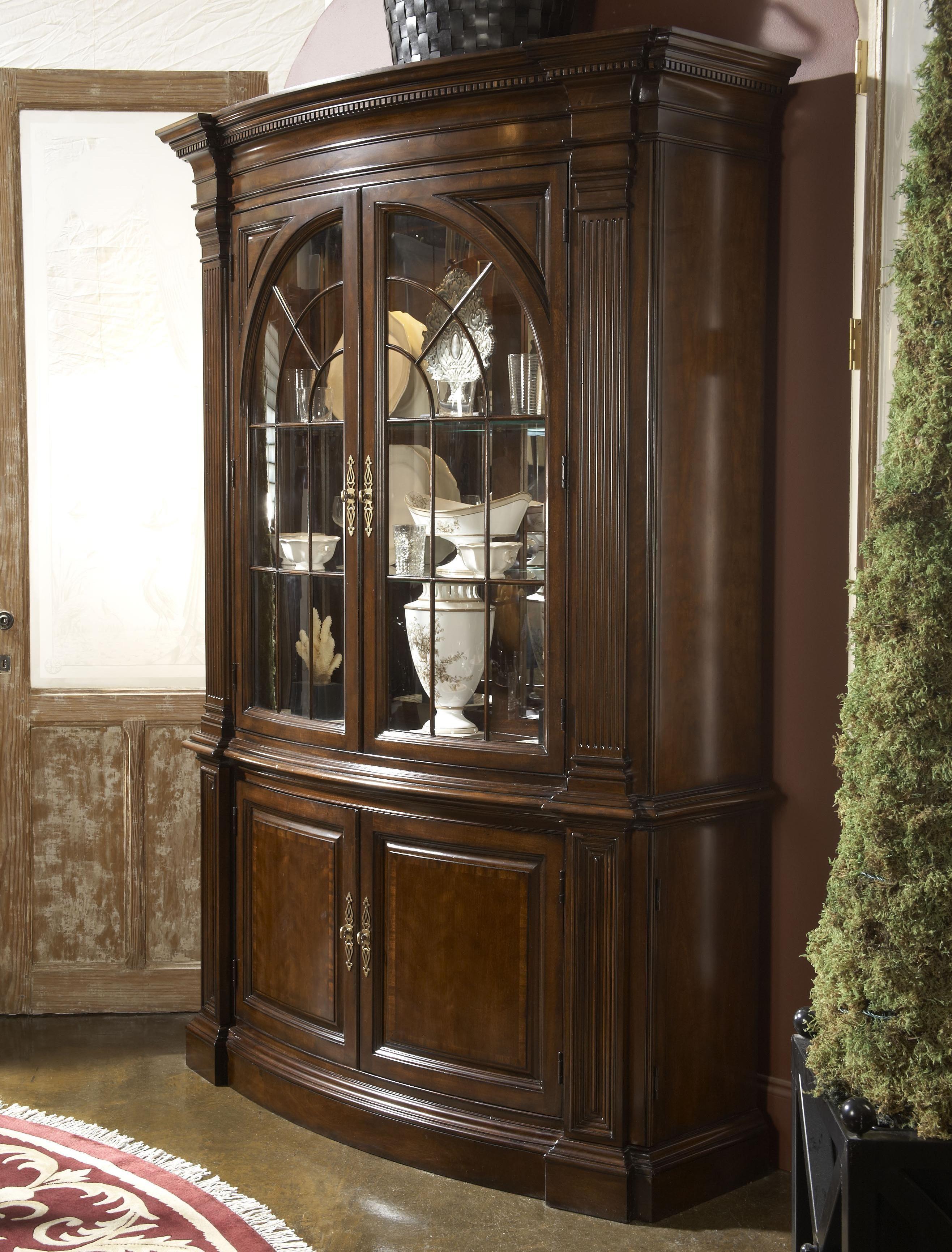 American Cherry Charleston Display Cabinet By Fine Furniture Design Fine Furniture Design Fine Furniture Display Cabinet