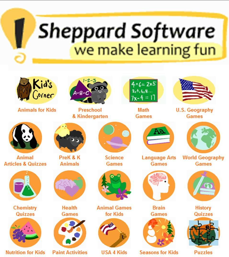 sheppard software fun free online learning games and