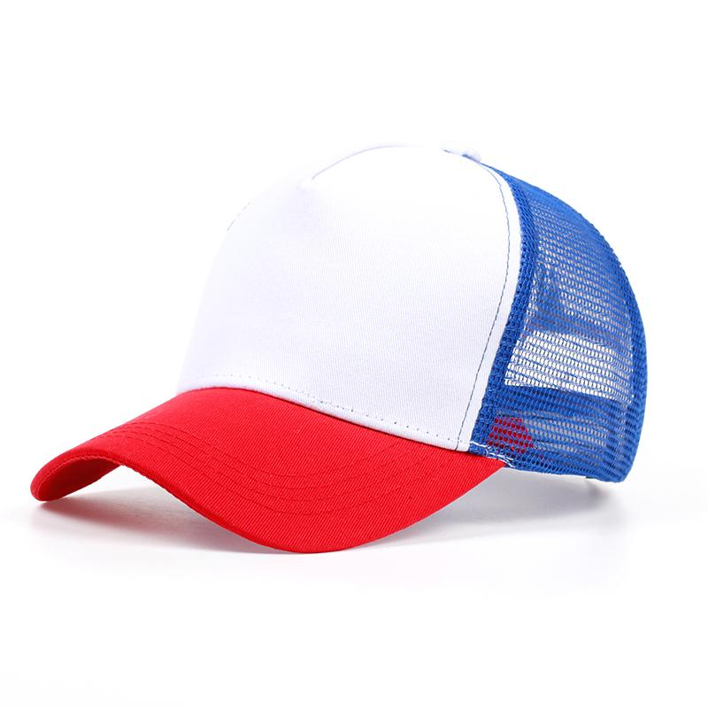 a8503d5028967 new Dustin Stranger Things Dustin baseball Cap Hat 100%Copy Cosplay Coser  Dustin Summer Snapback Mesh Net ...