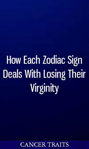Matchless lost virginity signs