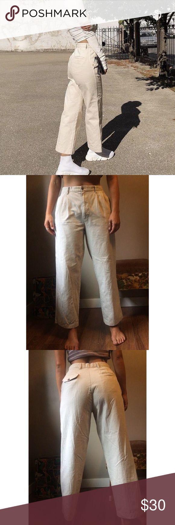 Pantalones De Skate De Color Beige Beige Neutro De Moda Pantalon Vendido A Traves De Depop Jean De Skate Holgado De Color Caqui B Pantalones Moda Color Beige