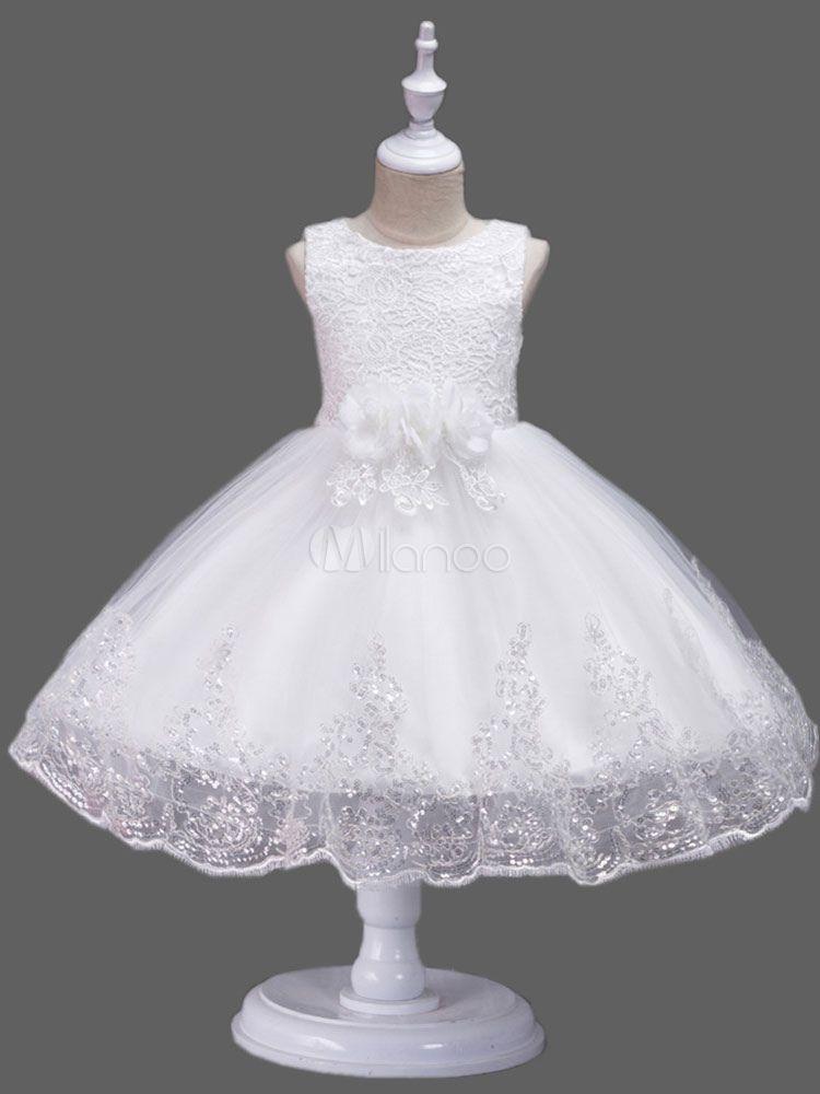 bd705059920 Flower Girl Dresses Lavender Lace Tulle Bows Tutu Dress Round Neck Kids  Short Ball Gown Dresses  Lace