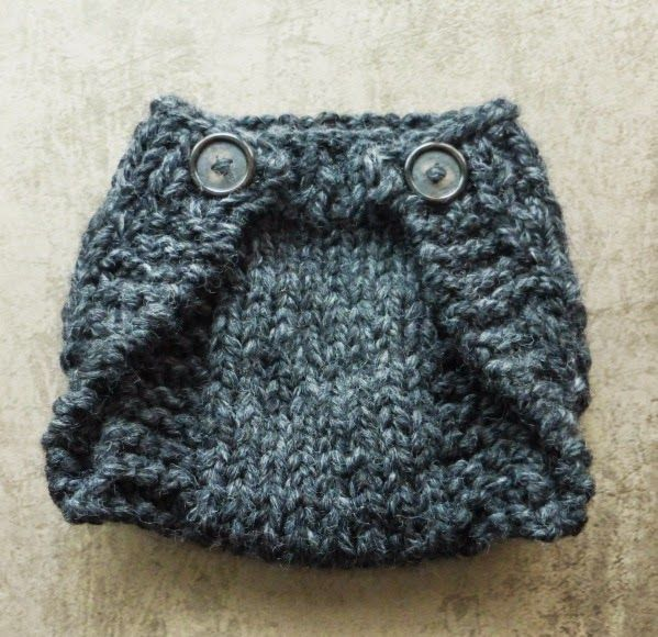 My Hand Made Stuff Moje Rukodelky Knitted Diaper Cover For A