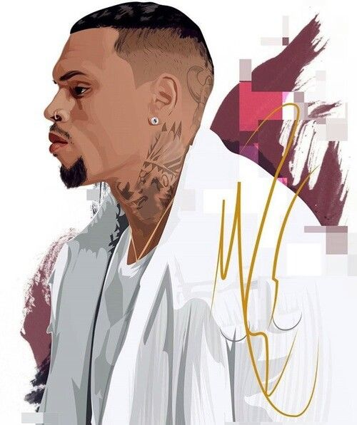 Black Pyramid Heartbreakonafullmoon Chris Brown Art Hip Hop
