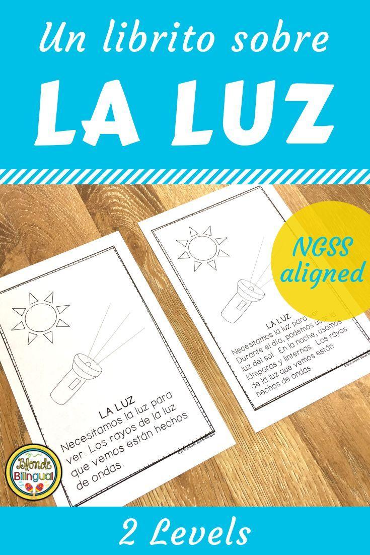 La Luz NGSS Aligned Light Mini Book in Spanish Mini