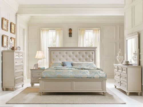 4 Pc Homelegance Celandine Pearl Queen Size Bedroom Set 19281 Amusing Queen Size Bedroom Sets Design Ideas