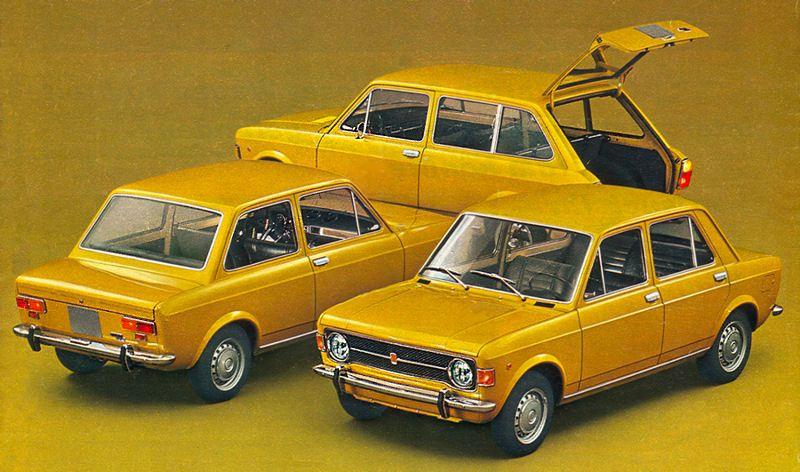 Fiat 128 1969 1985 Gotta Love The Colour Choice Yellow Cars