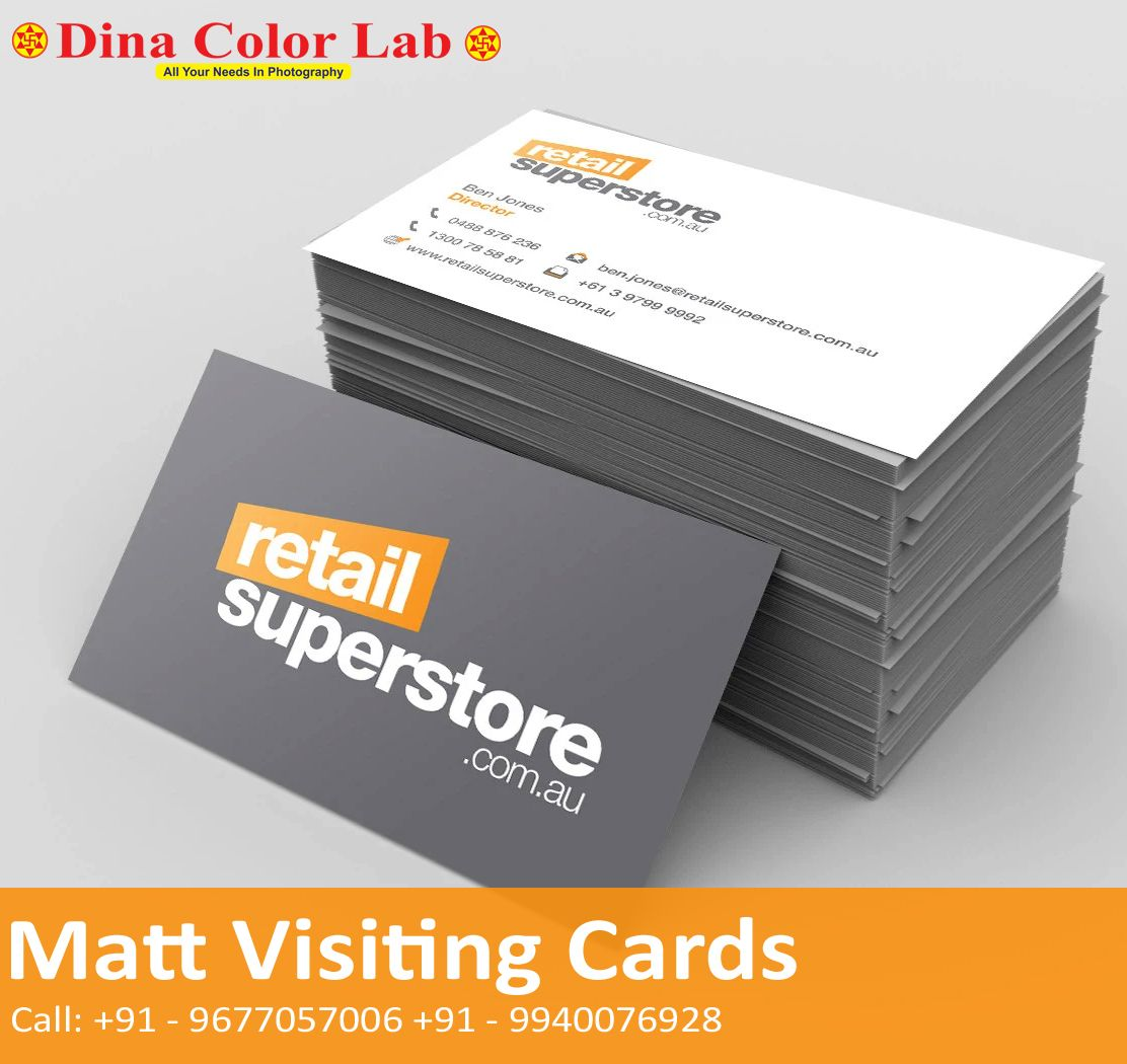 Matt Laminated Business Cards In 2020 Laminated Business Cards Printing Business Cards Brown Kraft Business Cards