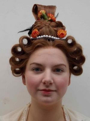 1830s Hairstyles Photos Of Work From Period Hair Courses 1830s
