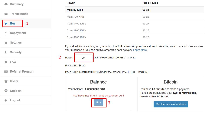 hashocean bitcoin mining btc pirmasis semestro rezultatas