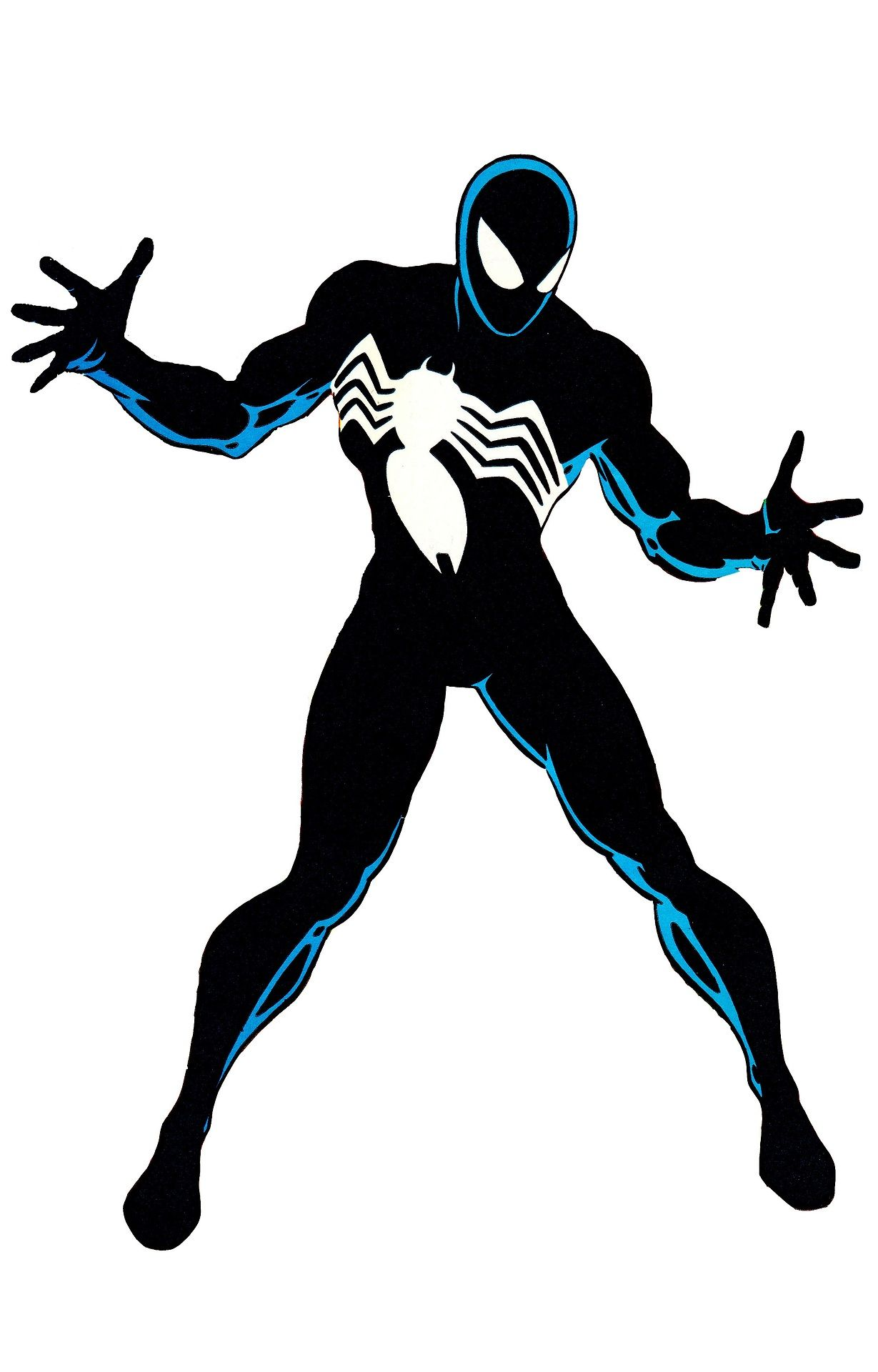 """thecomicsvault: """"BLACK COSTUME SPIDEY By Mike Zeck & John ..."""