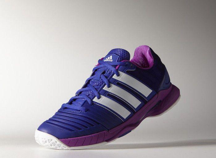 pretty nice f8445 3f5a3 adidas adipower Stabil 11 Womens Badminton Shoes Indoor Sport Purple NWT  M29381 adidas