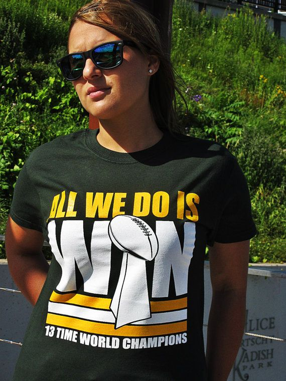 All We Do Is Win - Green Bay Packers T-shirt - Green  ba6d603b2