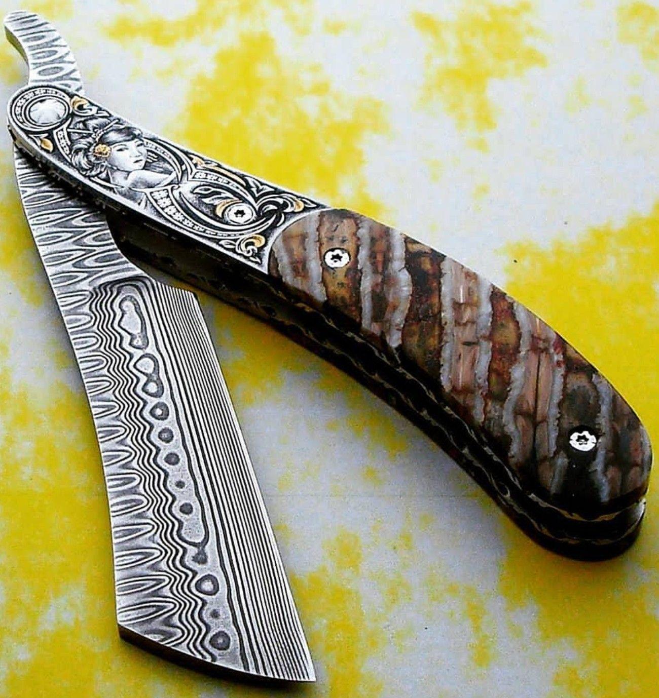 Consoli Knives Knife, Straight razor, Straight razor shaving