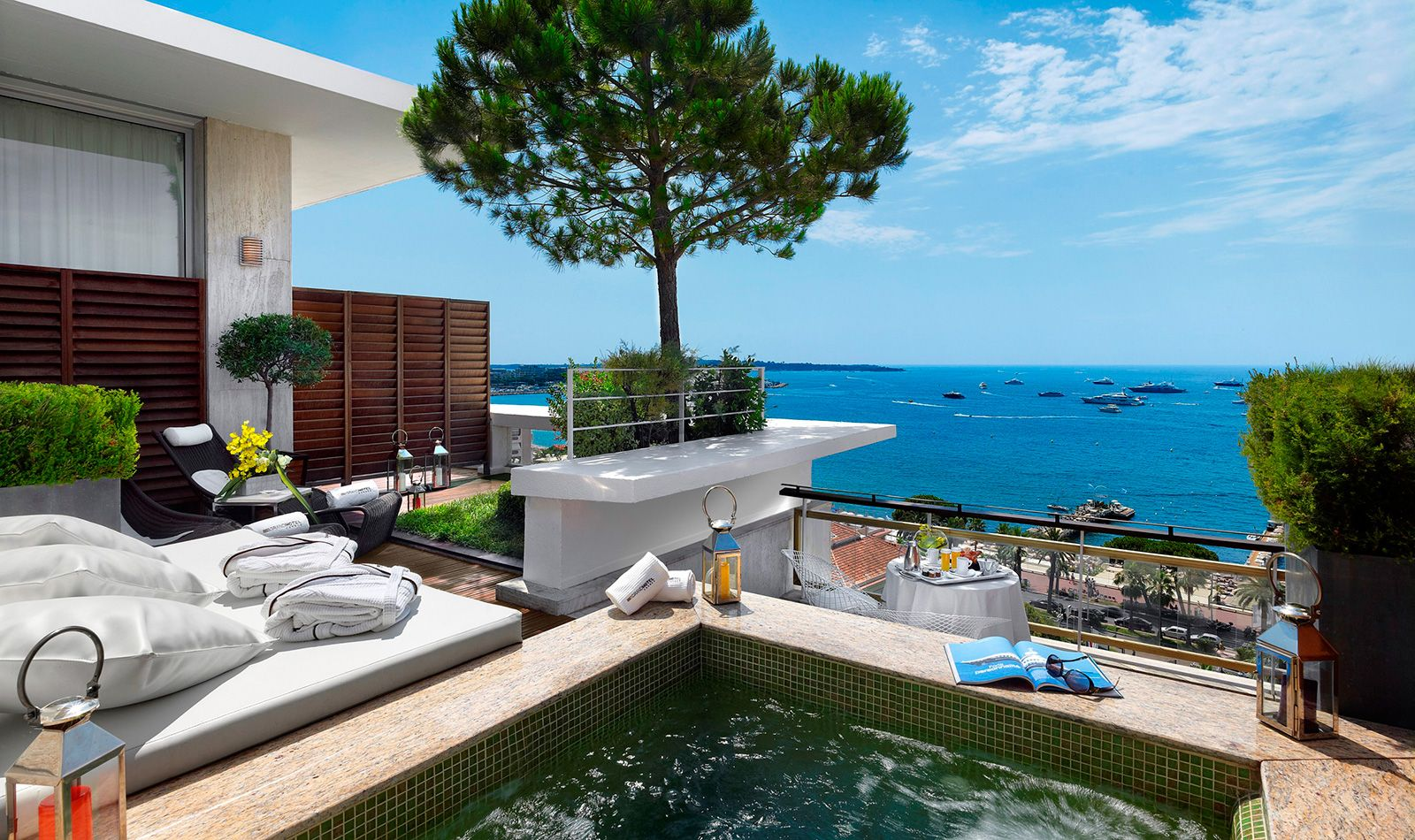 The top 5 most expensive hotel rooms in the world for Hotels cannes