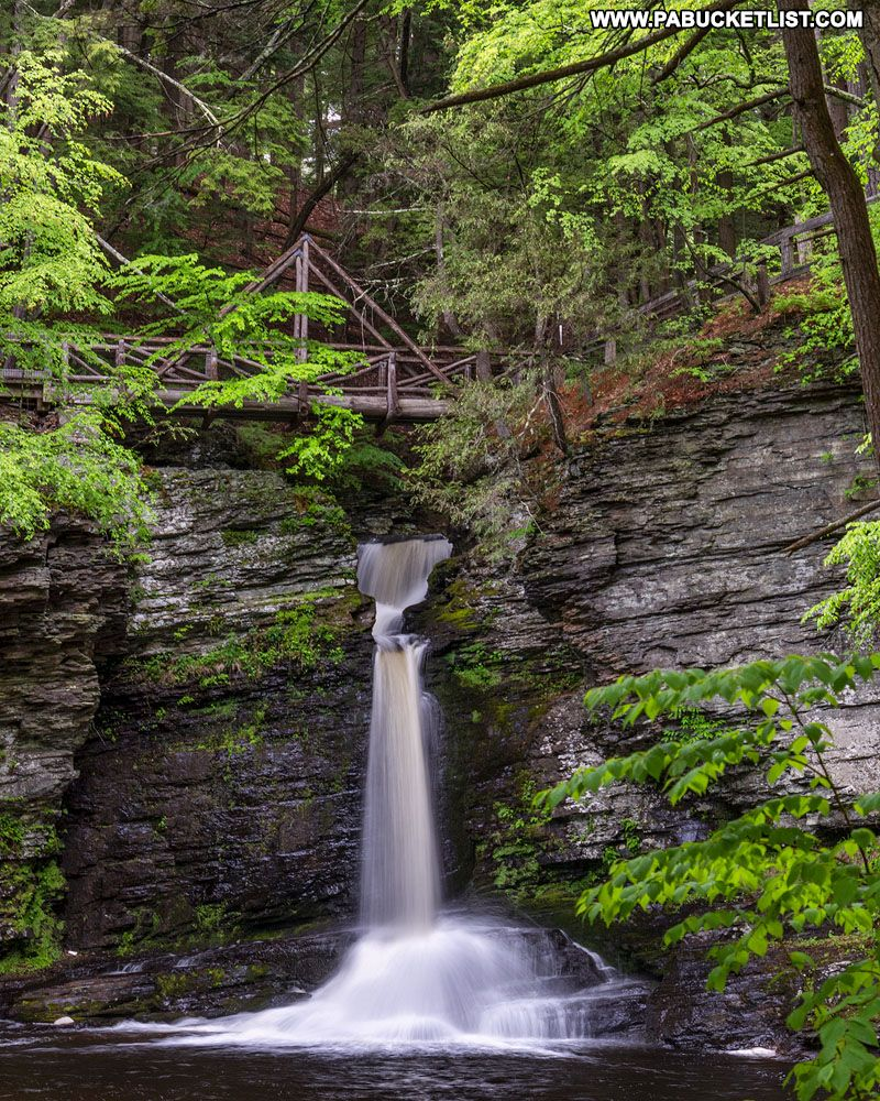 Pin On Childs Park Waterfalls Pike County Pennsylvania