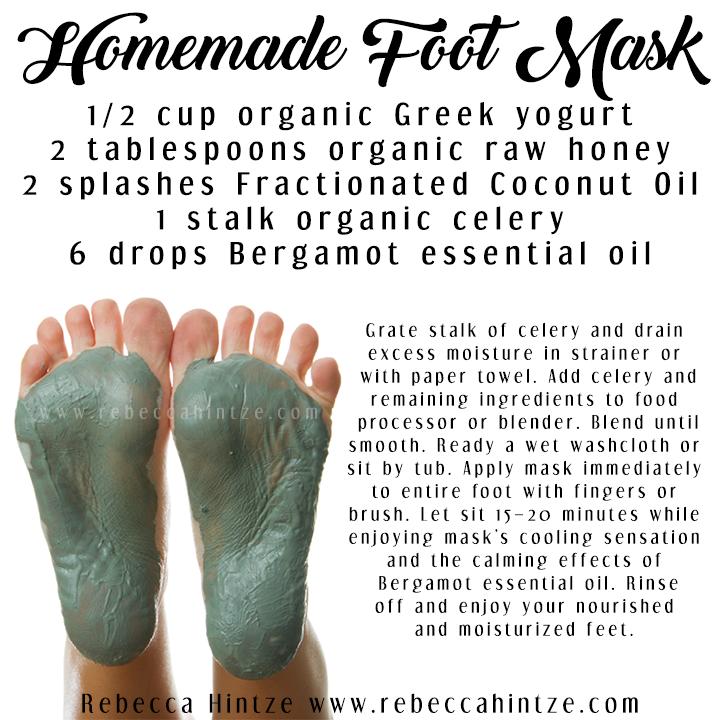 Diy Foot Mask 1 2 Cup Organic Greek Yogurt 2 Tablespoons