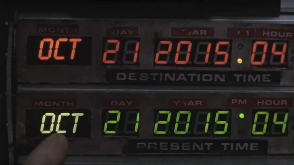 Today is finally 'Back to the Future' Day, Internet.