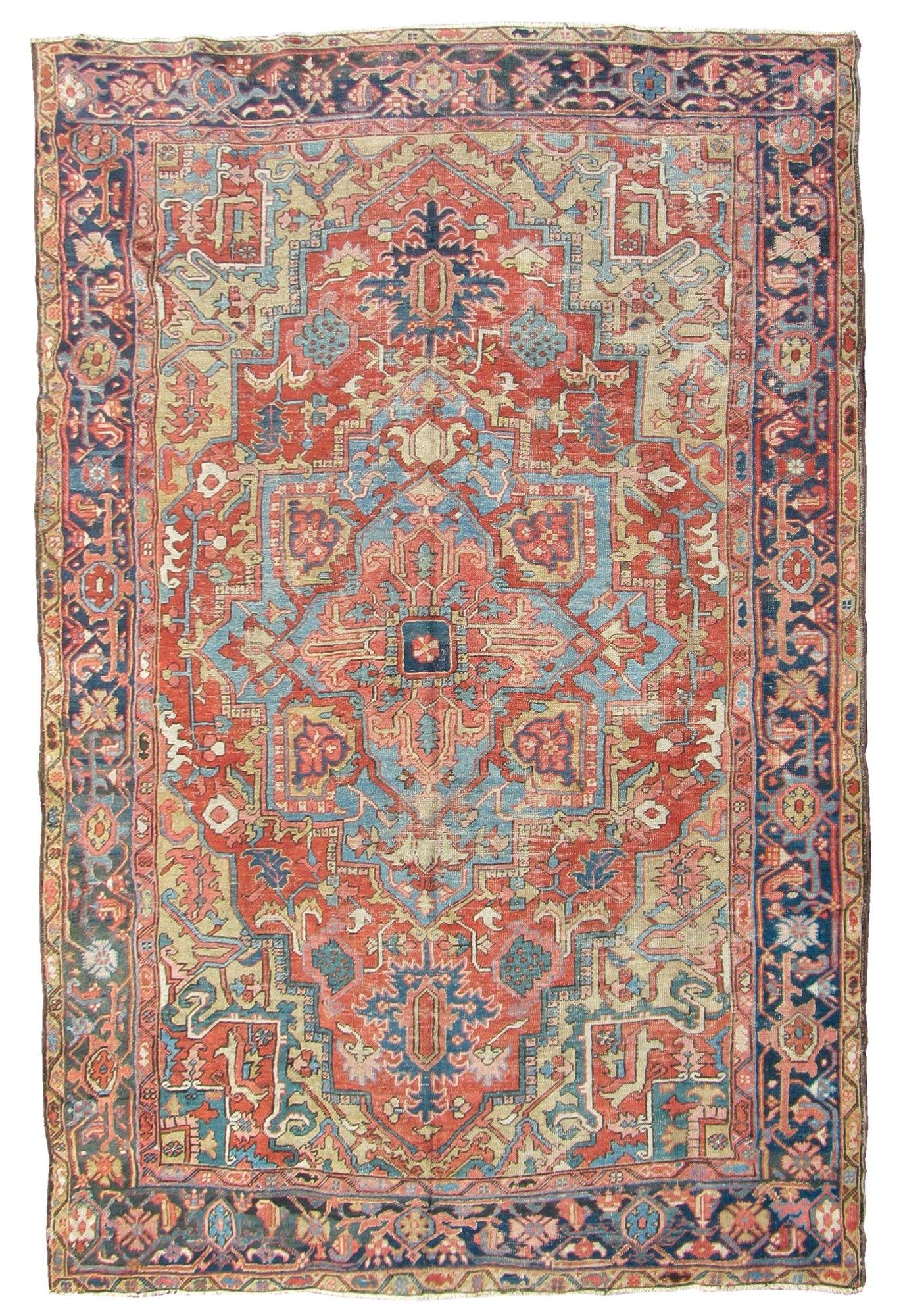 Tappeto nord ovest Persia Heritz fine XIX secolo from cambi casa d'este