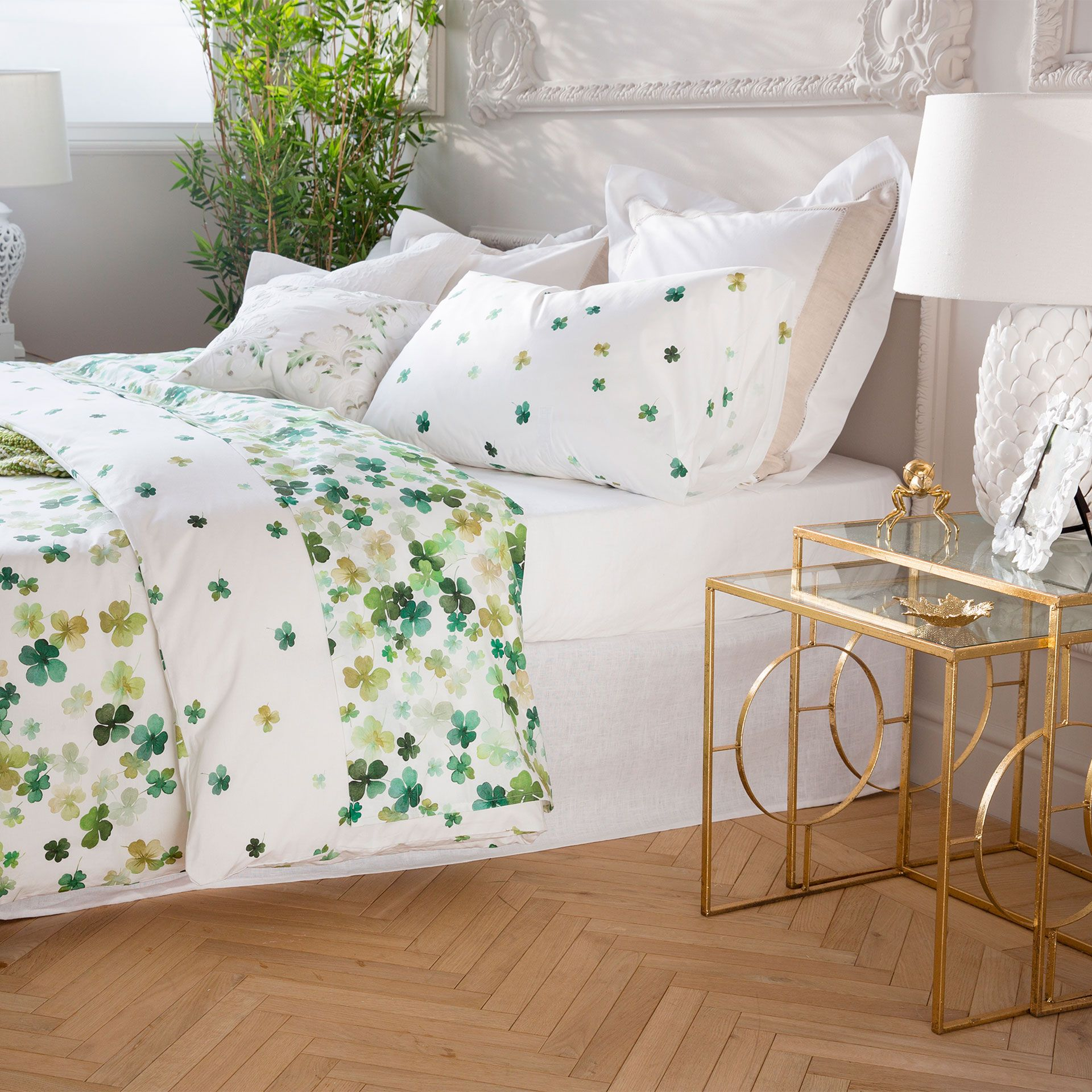 Clover Print Bedding