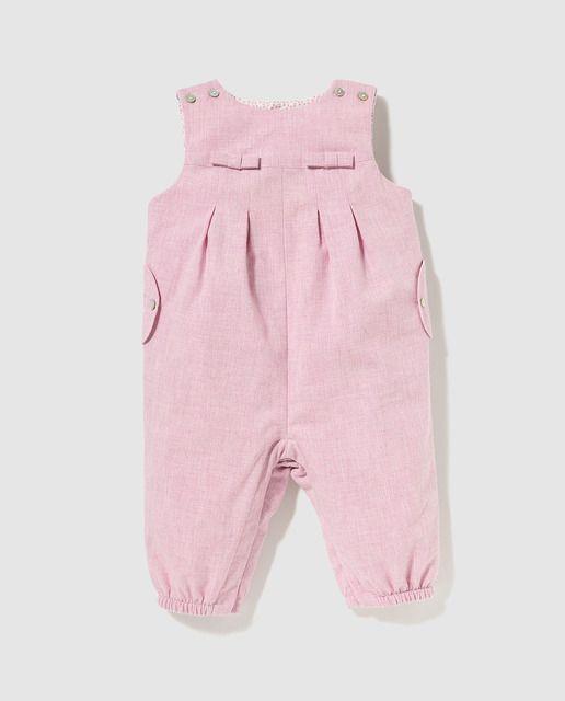 5c10d2bb7 Peto de bebé niño Dulces en rosa con lazos   Niñas ropa   Fashion ...