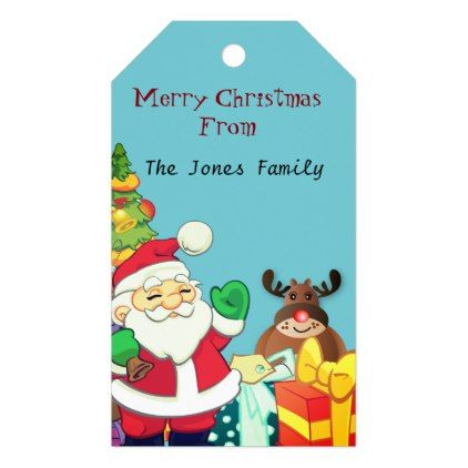 Personalized name christmas gift tag christmas craft supplies personalized name christmas gift tag christmas craft supplies cyo merry xmas santa claus family holidays negle Image collections