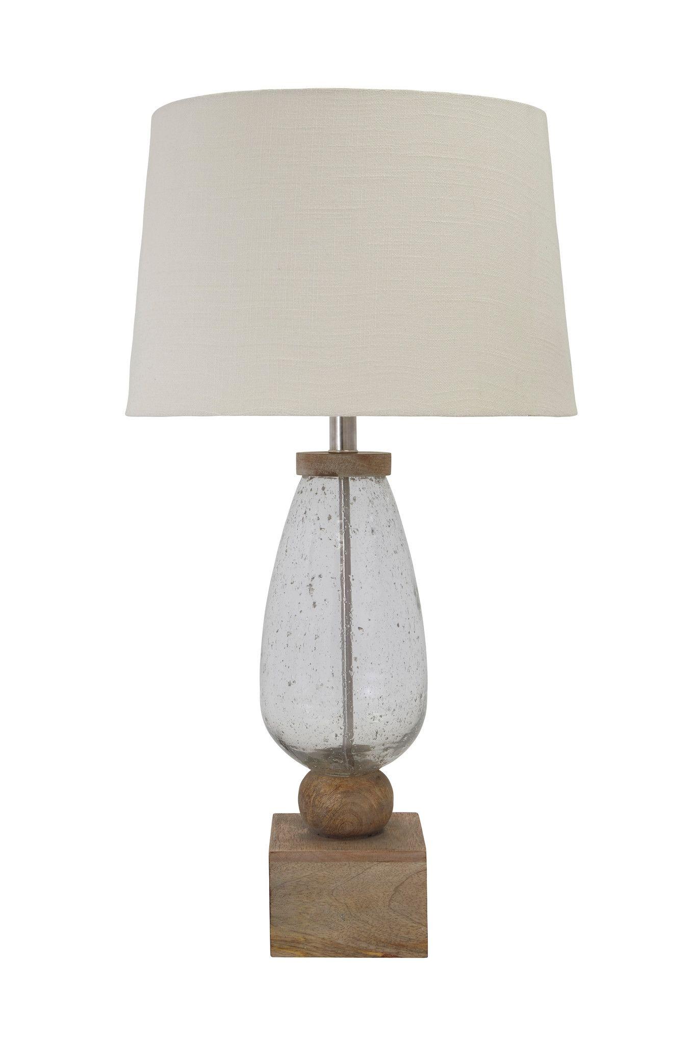 Glass Table Lamp Table Lamp Wood Table Lamp Glass