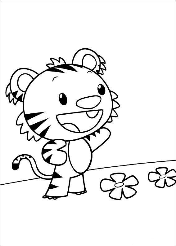 Ni Hao Kai-Lan Tegninger til Farvelægning 8   Tegninger ...