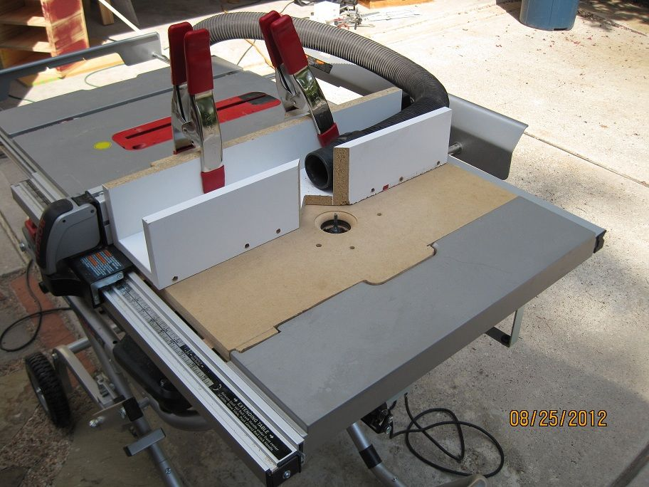 Pin By Marc On Wood Working Table Saw Bosch 4100 Table