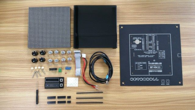 Retroball the build it yourself game kit brads electronic electronics projects solutioingenieria Gallery