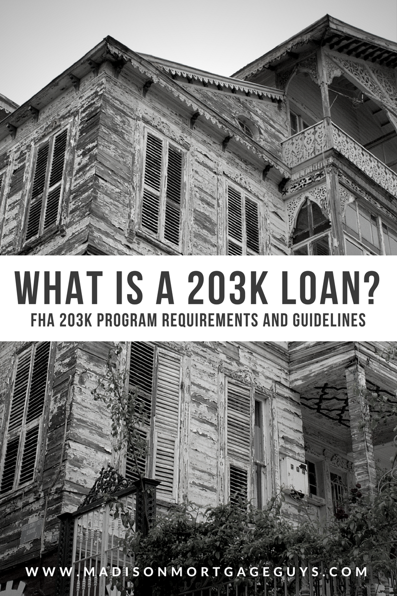 What Is A 203k Loan Refinance Mortgage Mortgage Tips Mortgage Rates Fha
