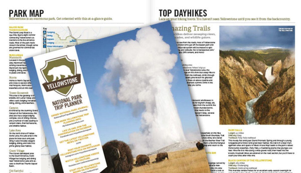 Free Yellowstone Trip Planning Kit. Start planning your