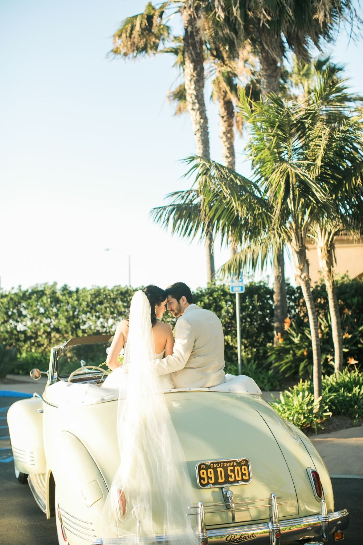 Wedding car decoration ideas  Vintage wedding getaway car  Wedding photo ideas  Pinterest