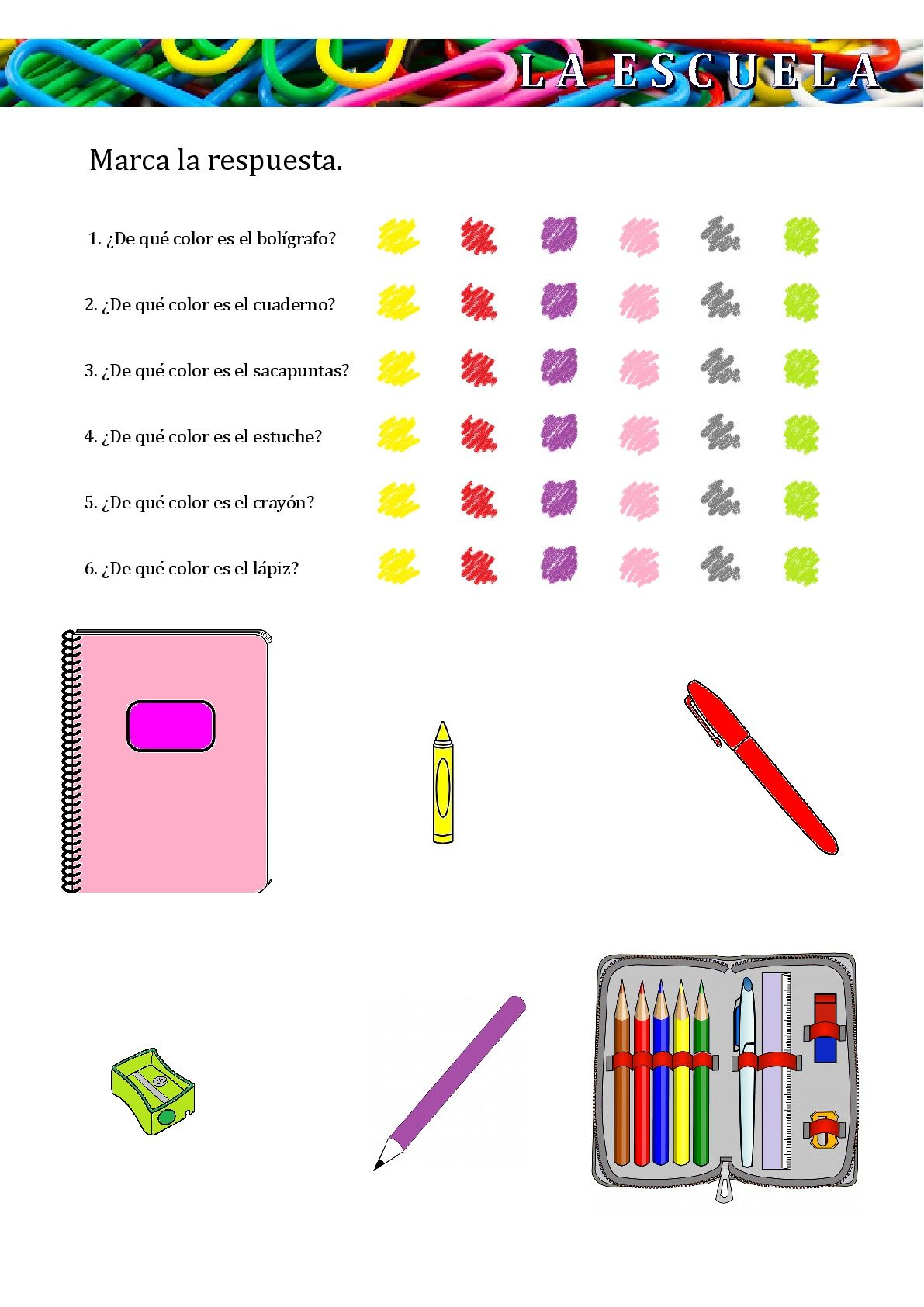 Pin By Genguelou Linswy On Espanol Para Ninos School Supplies In Spanish School Supplies Activity Pack [ 1684 x 1191 Pixel ]