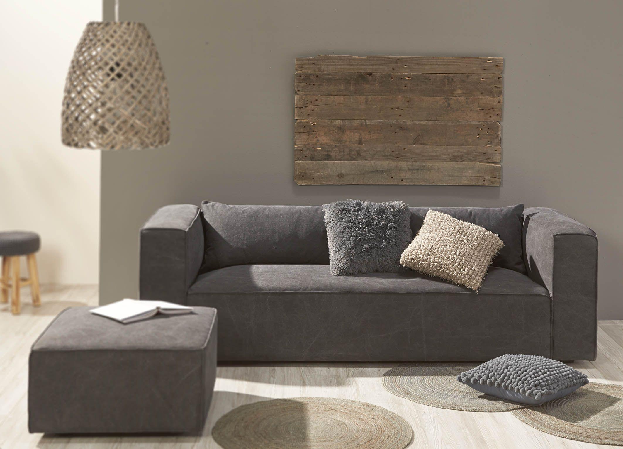 Bank winters gezellig warm knus grijs sofa winter coy