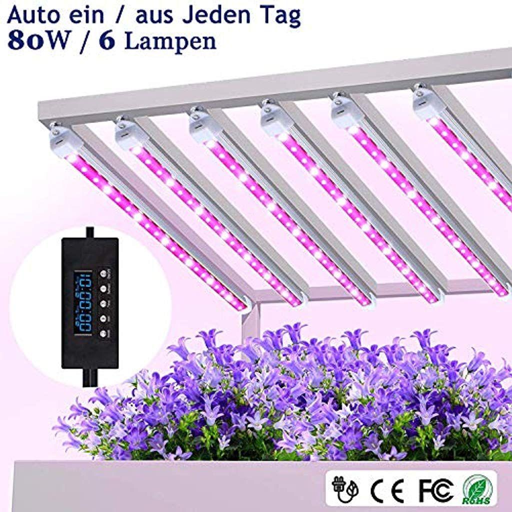 Mixc Pflanzenlampe 80w Led Pflanzenleuchte Pflanzenlicht Wachsen Licht Vollspektrumverbesserte Grow Lampe 24 St In 2020 Pflanzenlampe Pflanzenleuchte Led Pflanzenlicht