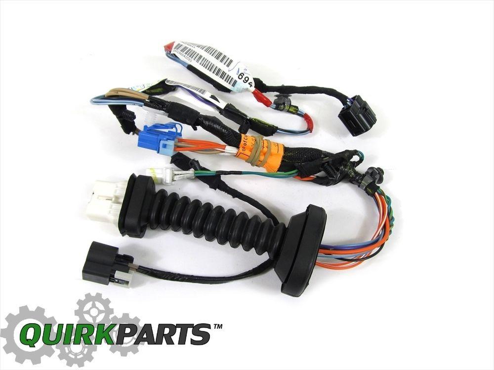06 08 dodge ram 1500 06 10 ram 2500 3500 right side rear door wiring06 08 dodge ram 1500 06 10 ram 2500 3500 right side rear door wiring new mopar mopar