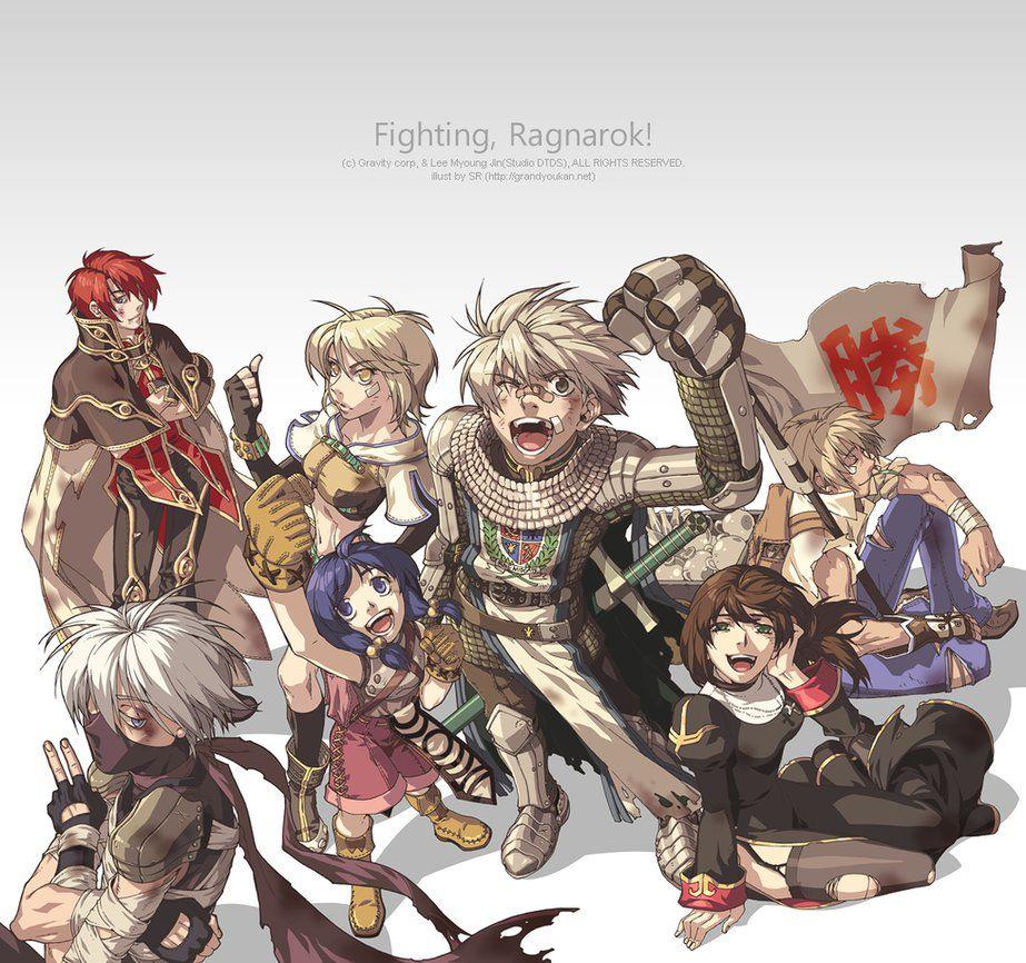 Ragnarok Online Guild war illustration by grandyoukan | RO