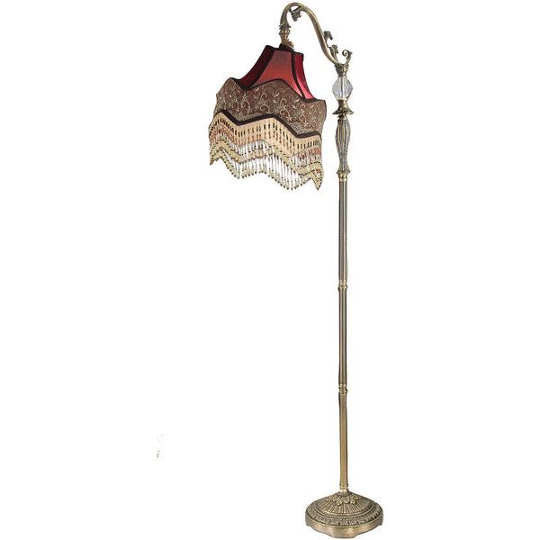 Dale Tiffany Beaded Ruby Floor Lamp 180 Liked On Polyvore Featuring Home Lighting Floor Lamps Lamps Beaded Lamp Beaded Lamps Dale Tiffany Ruby Beads