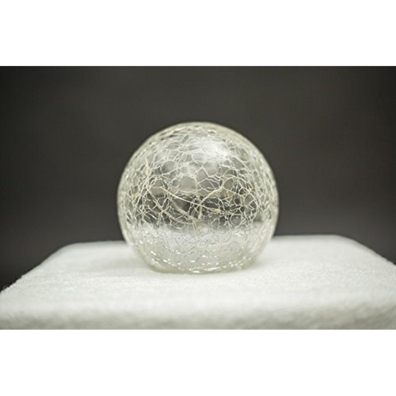 Cracked glass ball night lamp mood light crystal ball led light for