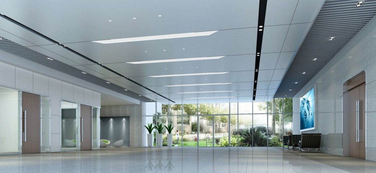 office building lobby ceiling design and office buildings on pinterest ceiling designs for office