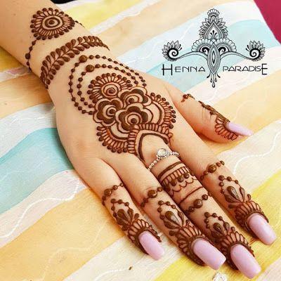 henna hand designs art lesson make a unique selfportrait