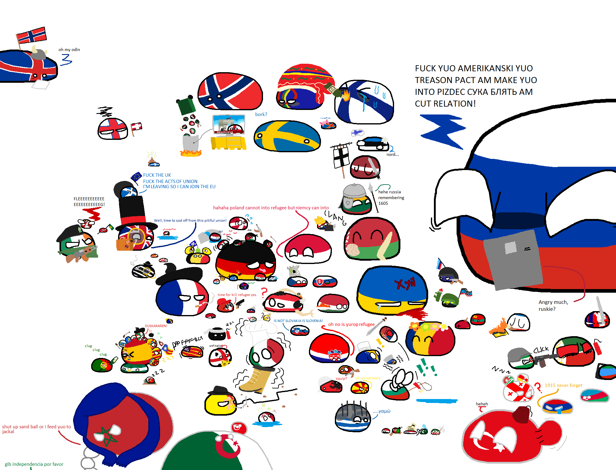 Polandball Map Of Europe World 2020 Country Memes Country Humor
