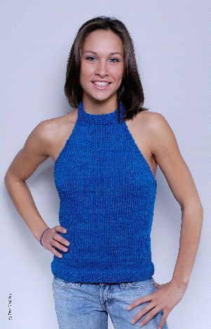 Knitting Pattern Central Free Pattern Alluring Halter Top Top