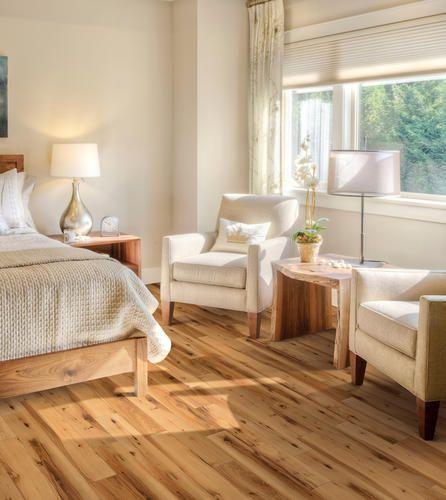 Beautiful Goth Bedrooms With Wood Floor: Menards Durango Hickory Innova Engineered Luxury Vinyl