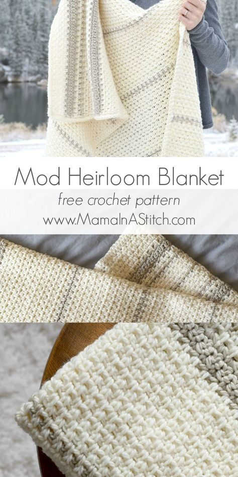 Love this heirloom crochet blanket - so classic and sweet! | Crochet ...