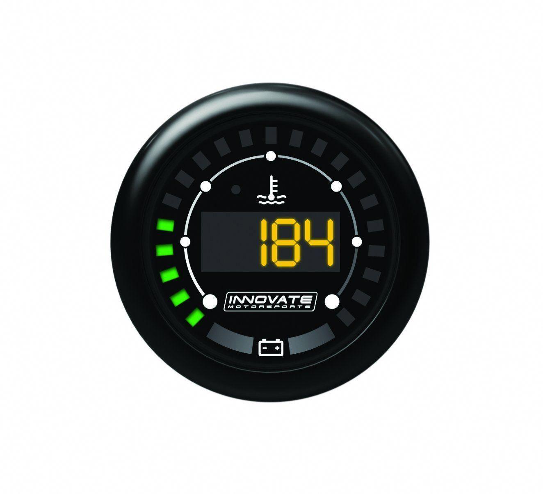 MTX Digital, Water Temperature & Battery Gauge Kit, Dual