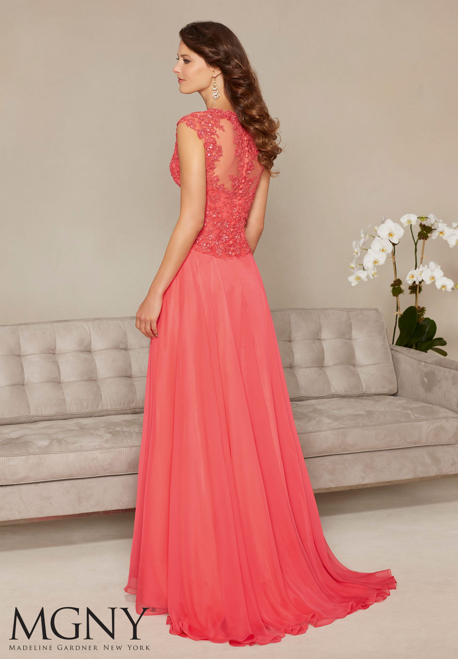Evening Gowns and Mother of the Bride Dresses by Morilee. Chiffon ...